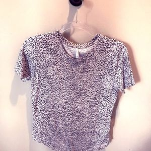 Z Supply animal print top